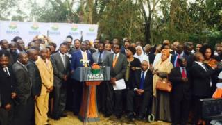 Raila iyo hoggaamiyayaasha kale ee NASA