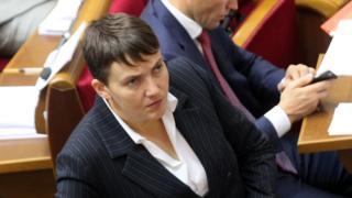 Надія Савченко підтверджує факт зустрічі з бойовиками в Мінську