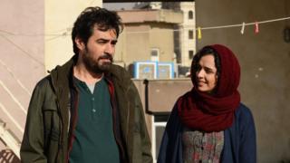 Shahab Hosseini and Taraneh Alidoosti in The Salesman