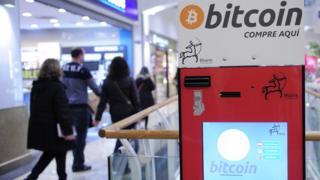 Cajero automático de bitcoin en Barcelona, España
