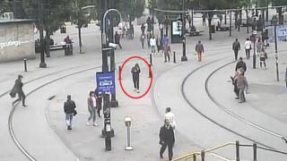 Salman Abedi on CCTV in Manchester