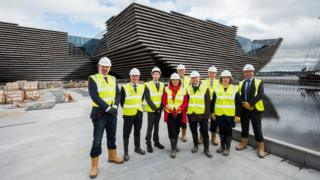 Fiona Hyslop at V&A Dundee
