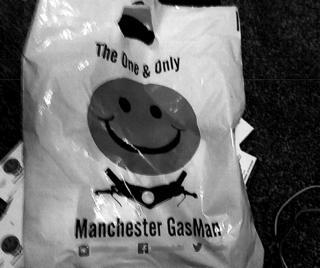 Manchester Gas Man bag