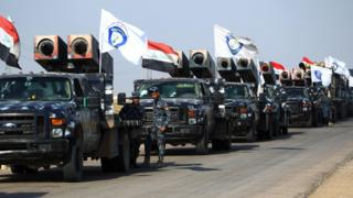Iraqi rocket-launchers