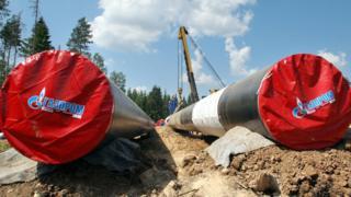 Gazprom boru hattı