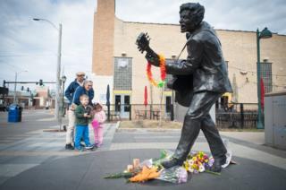 Estatua de Chuck Berry