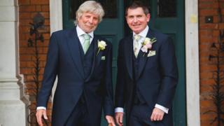 Paul Rogers, left, and Brett Dingwall