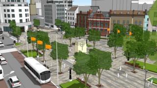 New city centre Metrobus routes