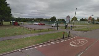 Car park opposite Neath Gardens