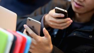 iPhones in China