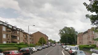 Shettleston Road in Glasgow