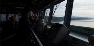 US Navy arriving at Faslane