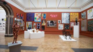 Installation view of Summer Exhibition Room VI