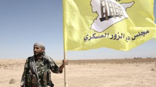 تقاتل القيادة العامة لمجلس دير الزور العسكري ضمن قوات سوريا الديمقراطية