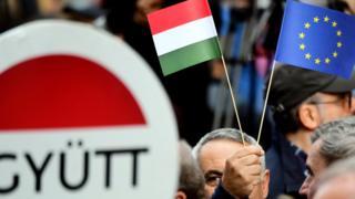 AB Macaristan bayrağı