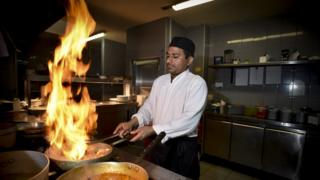 Head chef Talib Hussain