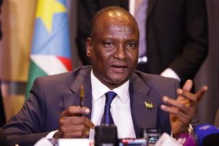Makamu wa kwanza wa rais nchini Sudan Kusini Taban Deng Gai.
