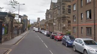 Constitution Street in Leith