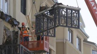 Six students were killed when a balcony collapsed in Berkeley, California