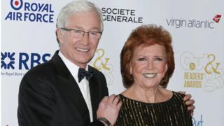 Paul O'Grady and Cilla Black