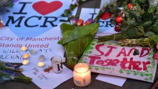 Manchester attack tributes