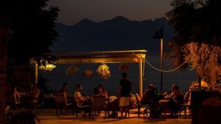 Анталья - один из туристических центров Турции