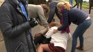 Fight at UKIP rally in Hartlepool