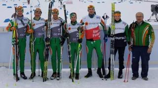 Irish Cross-County Skiing team