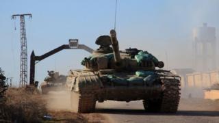كانت مسكنة آخر بلدة في ريف حلب يسيطر عليها تنظيم الدولة الإسلامية