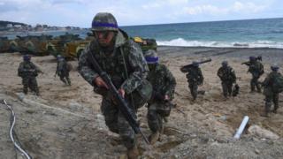 कोरिया-अमेरिका सैनिक
