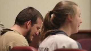 Jose Torres, de 26 anos, e Kayla Norton, de 25,