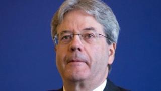 Le Premier ministre italien, Paolo Gentiloni