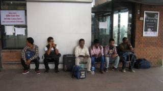 बैदेशिक रोजगारीमा जाने नेपाली कामदार