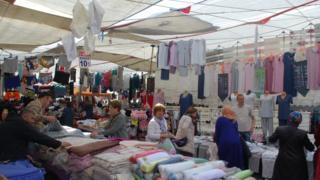 Kadıköy'deki Salı Pazarı