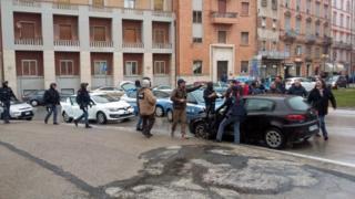 Sharp-sharp Italian police arrest and identify di gun man as Luca Traini on Saturday