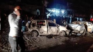 عکس آرشیوی از حمله ای در بغداد