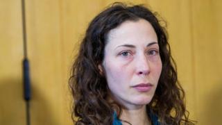 Czech turist Pavlina Pizova 26 Ağustos günü Yeni Zelanda Queenstown'daki polis karakolunda düzenlenen basın toplantısında