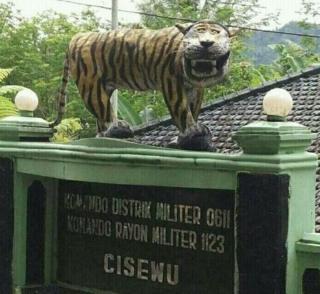 เสือ, อินโดนีเซีย, โซเชี่ยลมีเดีย, การ์ตูน, ล้อเลียน