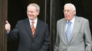 Martin McGuinness and Ian Paisley