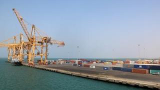 A view of Yemen's rebel-held Red Sea port of Hodeida. Photo: 7 November 2017