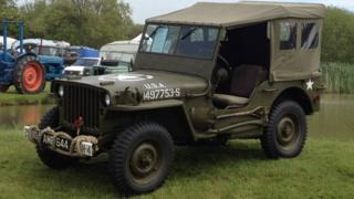 Stolen 1944 Willys Jeep