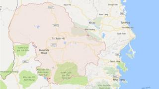 Bản đồ tỉnh Đắk Lắk