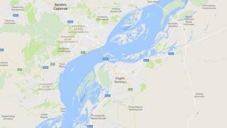 Саратов вилояти Энгельс тумани харитаси