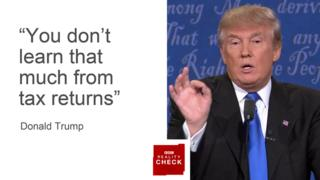 Images Reality Check: First Clinton v Trump presidential debate - BBC News 8