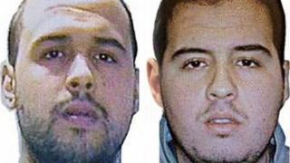 Khalid (L) and Brahim el-Bakraoui