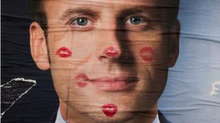 poster of Macron