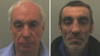 Peter Yates and Shaun Yates