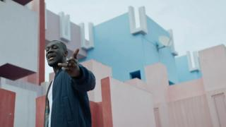 Stormzy in the short film for Gang Signs and Prayer