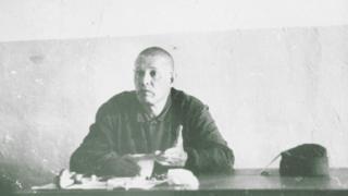 Георгий Винс в трудовом лагере в Сибире. Лето, 1976.