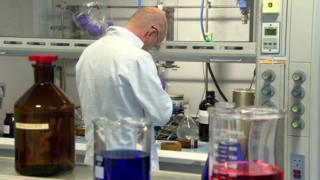 Employee working in pharmaceutical firms